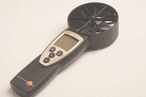 анемометр для измерения воздухообменов